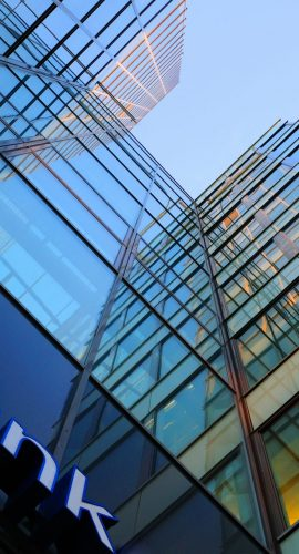 Financial Services Bank Building