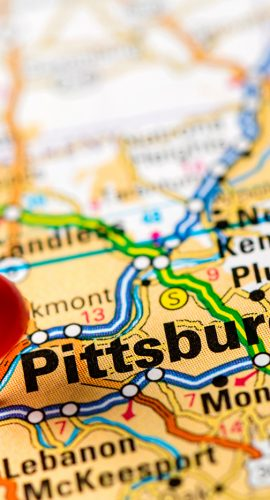 "Map: ""Pittsburgh"""