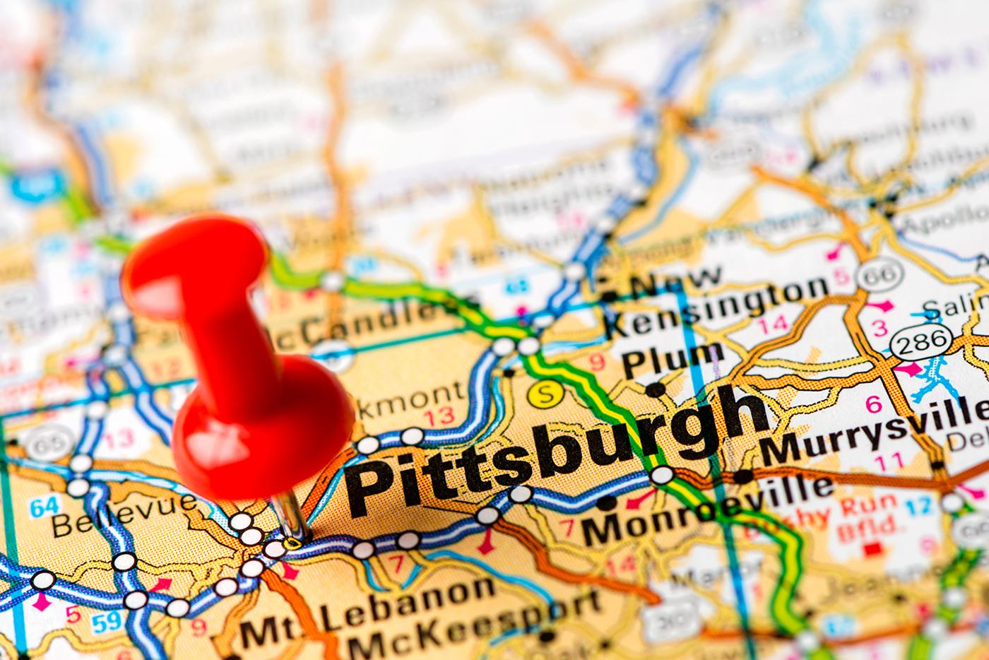 "Map: ""Pittsburgh"""
